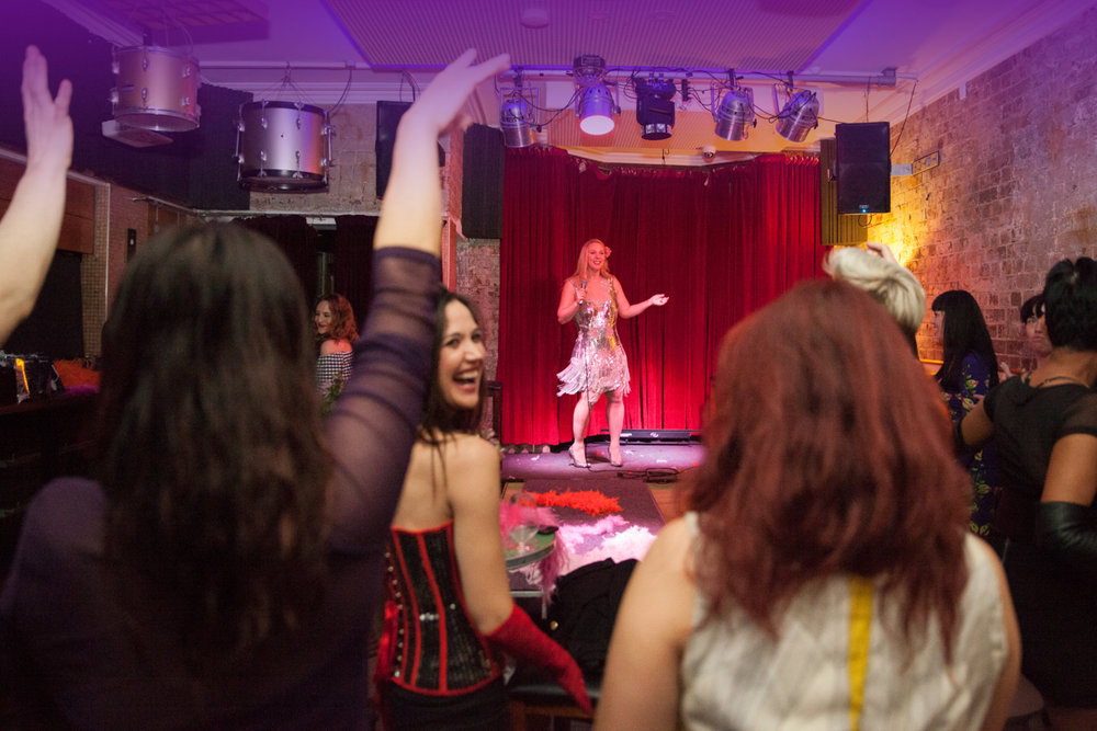 "Sparkle Birthdays - ""I was so happy to find Sparkle Burlesque. We had an amazing and unforgettable surprise with a Sparkle Showgirl. Everyone was so surprised and didn't expect it and it was so much fun - we loved the show so much! I will keep in touch for our next sparkly party!""- Farah, St Ives"