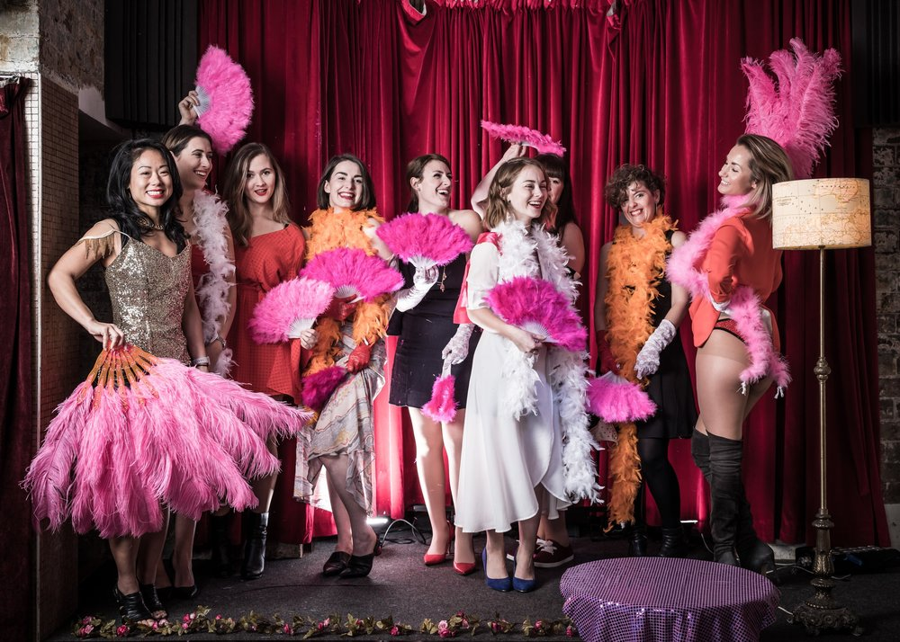 Bump 'n' Grind Burlesque - For a hens night with extra sparkle sparkle.
