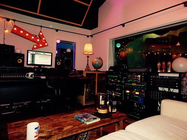 Pro tip: bourbon. . #recordingstudio #protip #bourbon