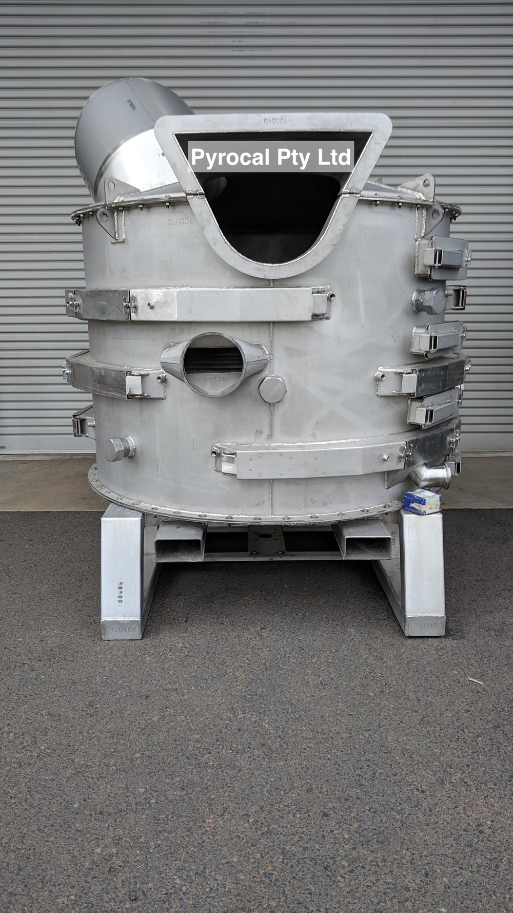 Rotary Hearth Front View