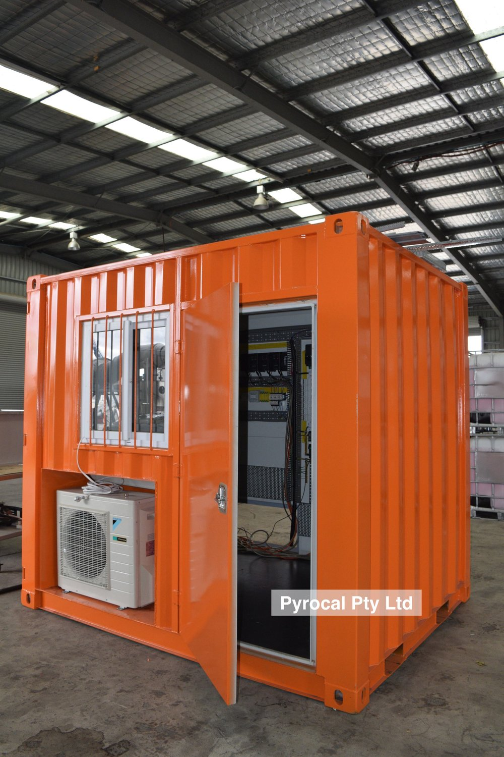 Containerised Switch Room