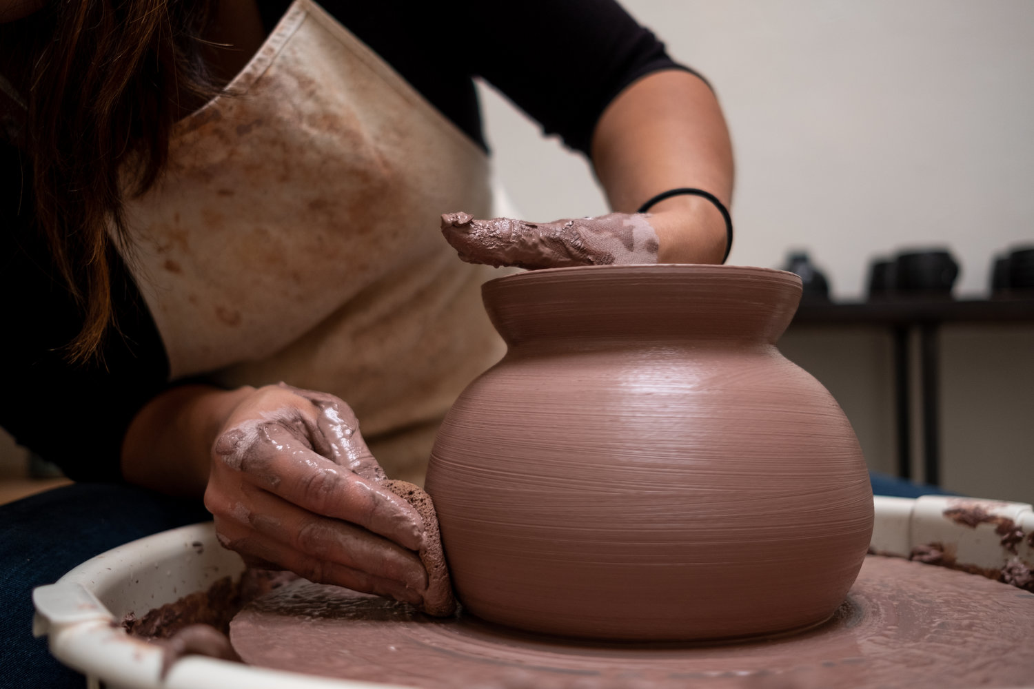 Arts And Culture Series For Older Adults Pottery Class One