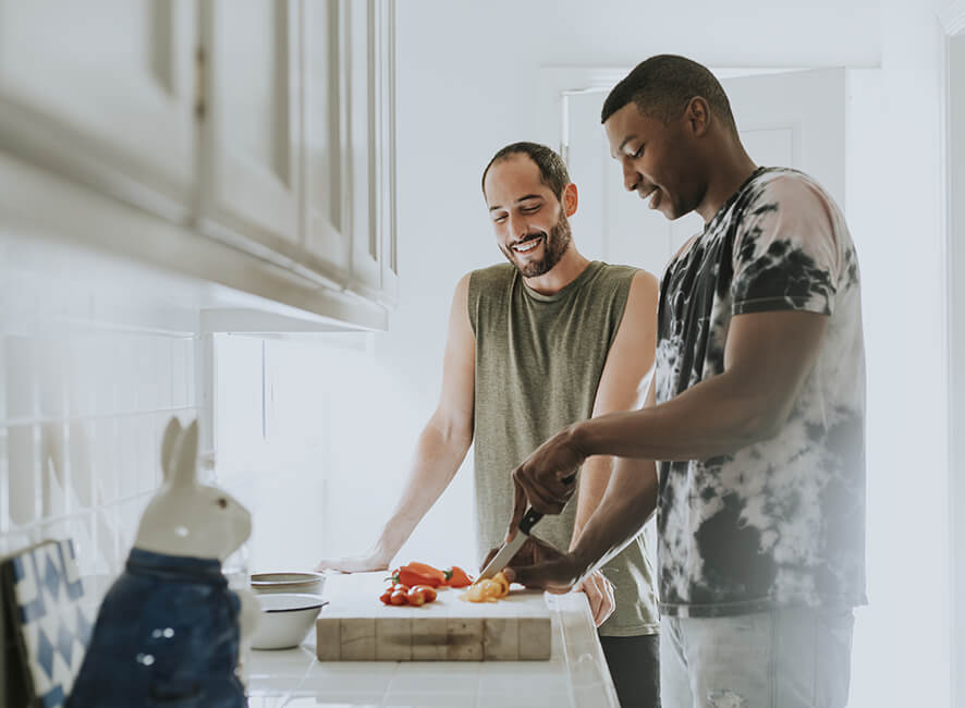 Meaningful location - couple cooking at home.jpg