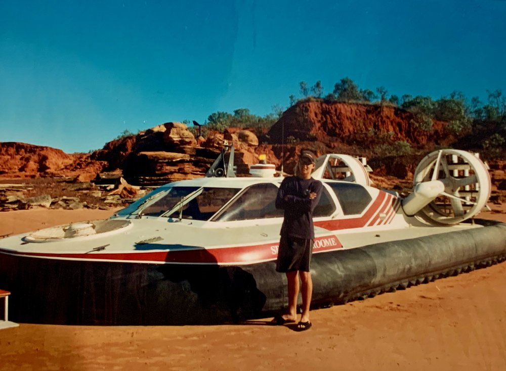 Broome Hovercraft, mid teens.