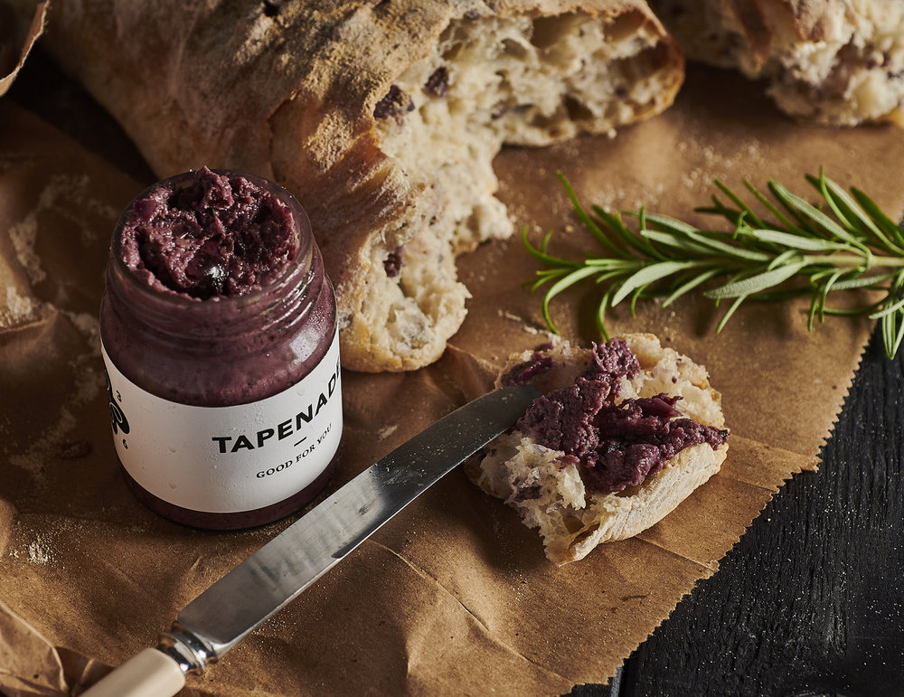 OLIVE TAPENADE   with a chunk of your favourite bread.