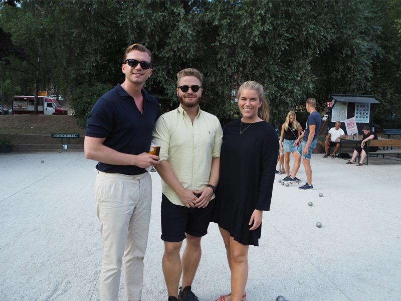Johan, Jonathan and my baby sis Oda