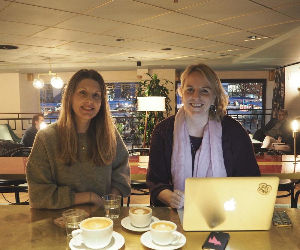 Christine Nord    &    Helena Önneby
