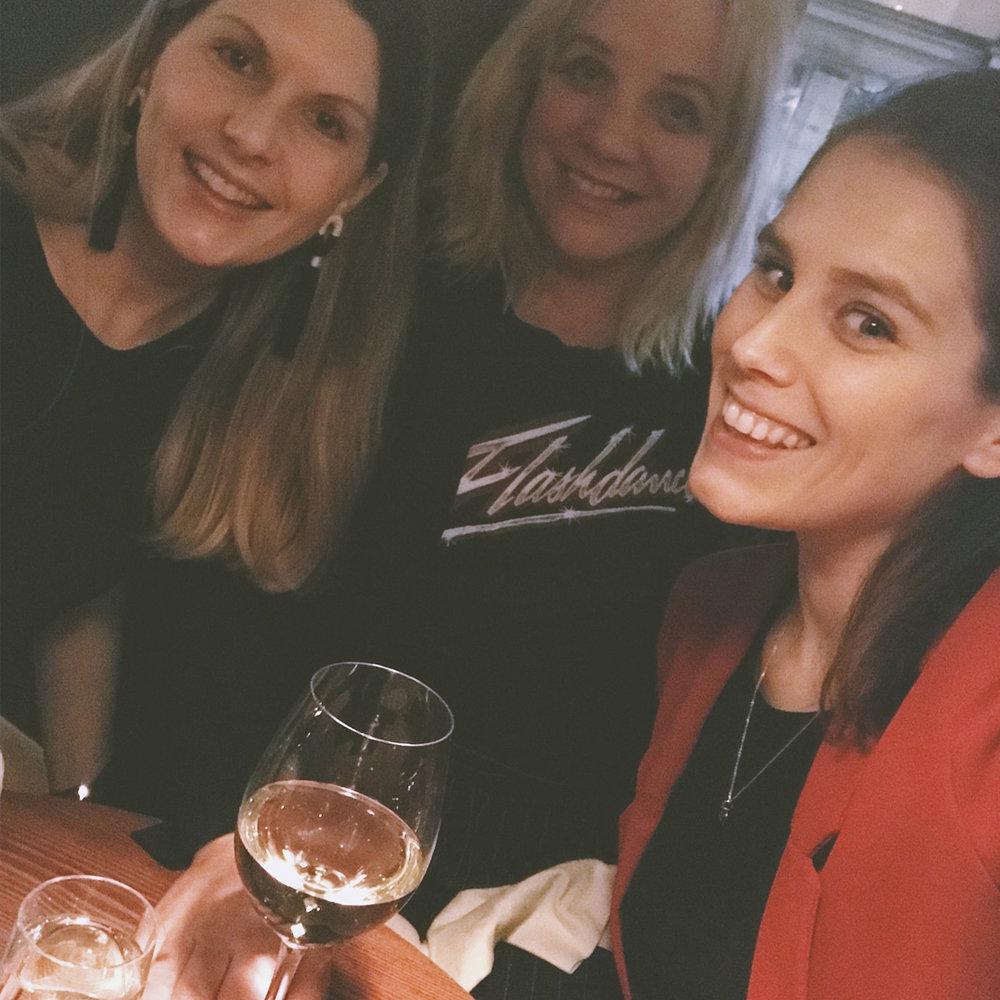 Christine, Anna and me