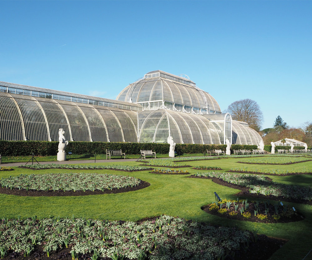 The Palm House seen from the outside