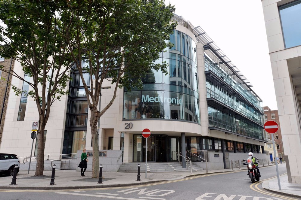 Medtronic's headquarters in Dublin. Photo: Colm Keena/The Irish Times
