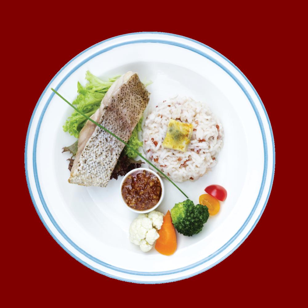Deep Sea Grouper Fish Fillet  Lightly seared deep sea grouper fish fillet, comes with Chef's special taucu sauce.  RM 25