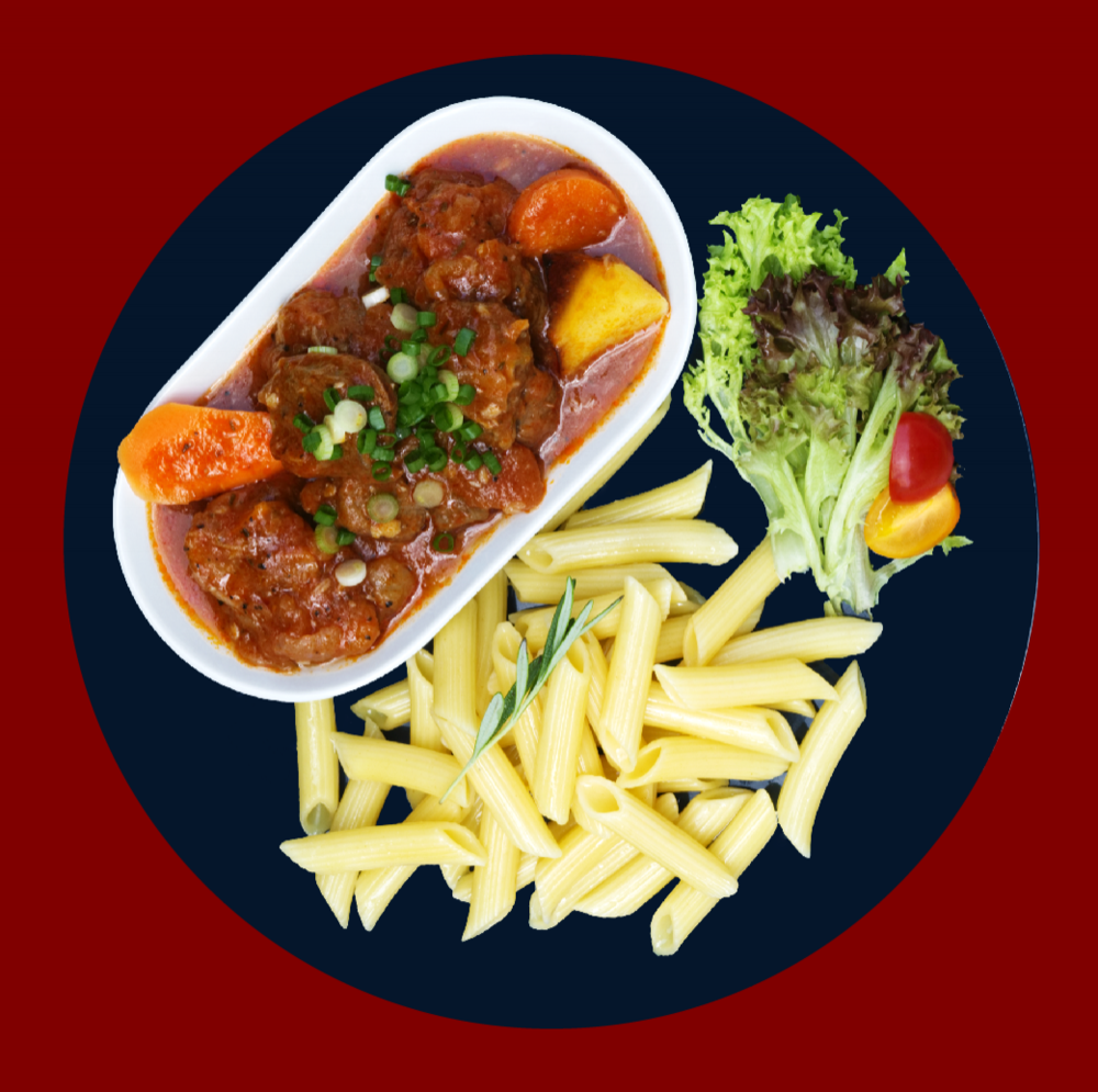 Classic Lamb Stew  Classic lamb stew accompanied with a generous serving of root vegetables. RM 24