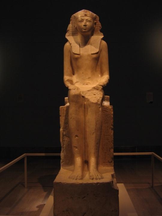 Farao Hatsjepsoet, circa: 1473-1458 B.C. Metropolitan Museum of Art, New York.