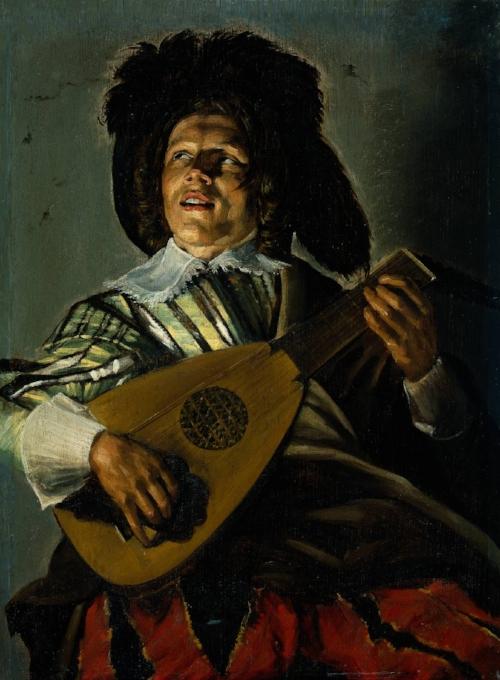 Het beroemde schilderij  De Serenade , geschilderd door Judith Leyster in 1629.