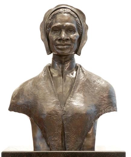 Een buste van Sojourner Truth die sinds 2009 in het Amerikaanse Congres staat.