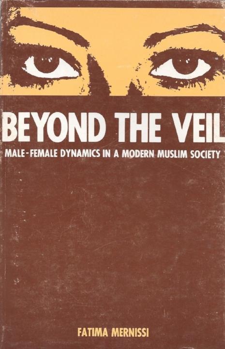 De Engelstalige eerste druk van 'Achter de sluier', 1975.