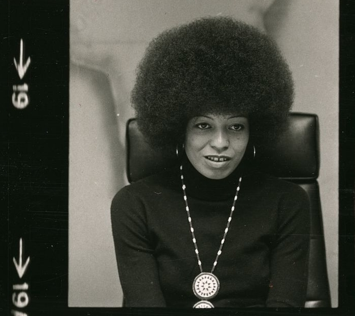 Angela Davis in 1974 (The Library of Congress).