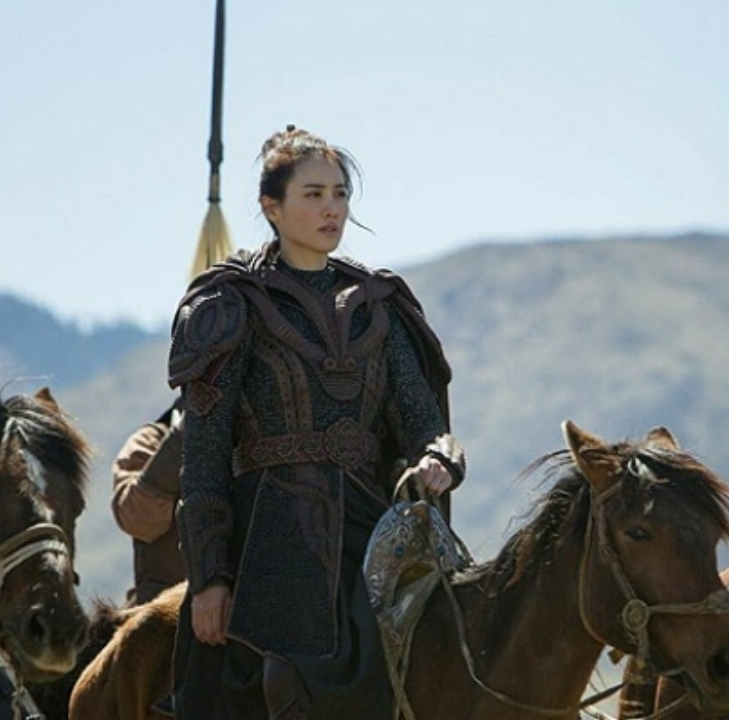 Still uit de Netflix serie Marco Polo (2014).