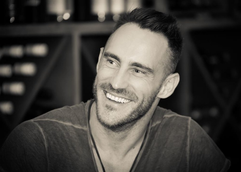 In interview with Faf Du Plessis . . .  -