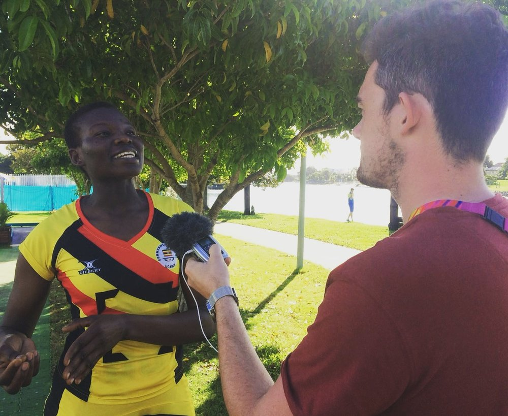 IN INTERVIEW WITH. . . Peace Proscovia - Uganda Netball Captain
