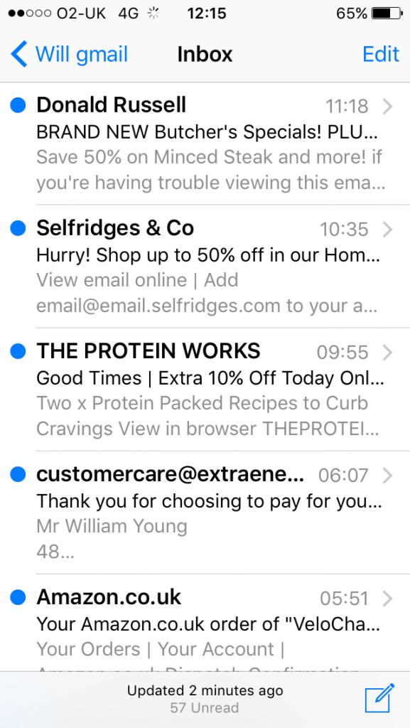 iphone 5 inbox image