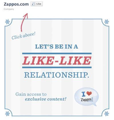 Zappos making social engagement simple