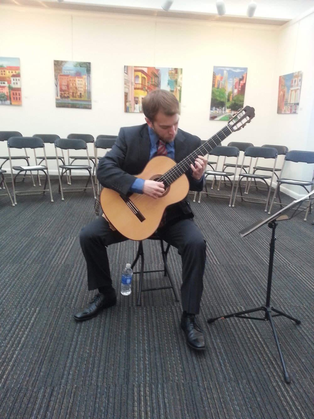 FSU, Benjamin Lougheed, Performing at Florida Capital Building.jpg