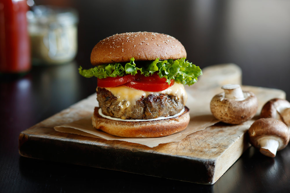 Mushroom Council - We figured out how to address climate change and water scarcity by using mushrooms in high volume restaurant and food service, setting the stage for the adoption of culinary innovations like the blended burger.