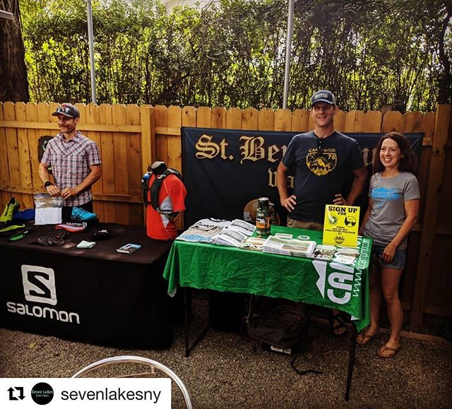 #Repost @sevenlakesny ・・・ Our @rocklandcountybeerweek Trail To Tap event is on! A1 Reggae Band is setting up and @salomon and @campmor are here with prizes! WIN Salomon shoes, a pack, a stainless steel growler, tshirts, commemorative stainless steel pint cups, and more! #trailtotap #sevenlakesstation #craftbeer #rocklandcounty #sloatsburgny