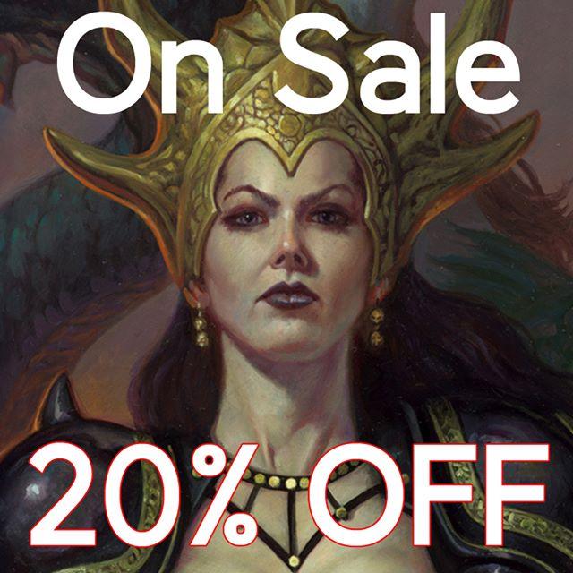 On Sale! 18 Open Edition Art Prints have been reduced by 20%. S&H is a FLAT rate of $10 in the US and $25 for the rest of the world. Link in profile :) #fantasyart #dragons #dungeonsanddragons #dragonlance #mtg