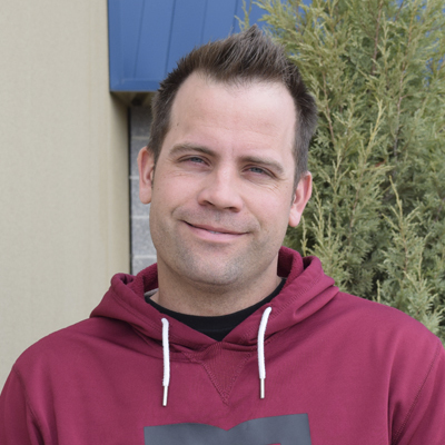 Keegan Poelzer    Student Ministries Activity Coordinator