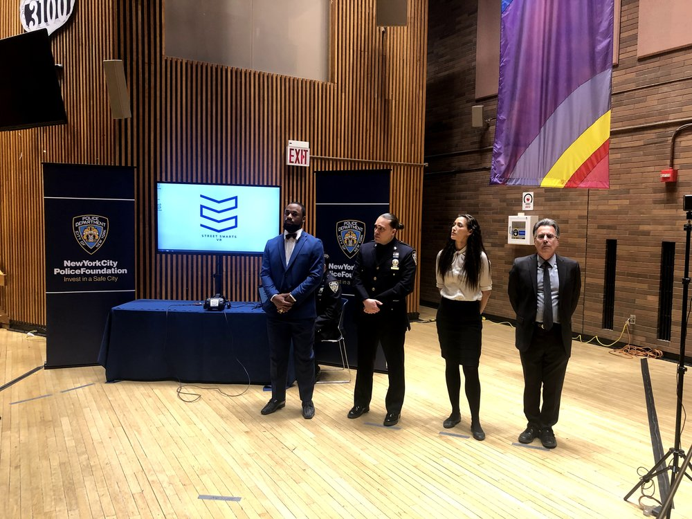 "Alice Fromwalt at the New York City Police Foundation ""Options"" program unveiling"
