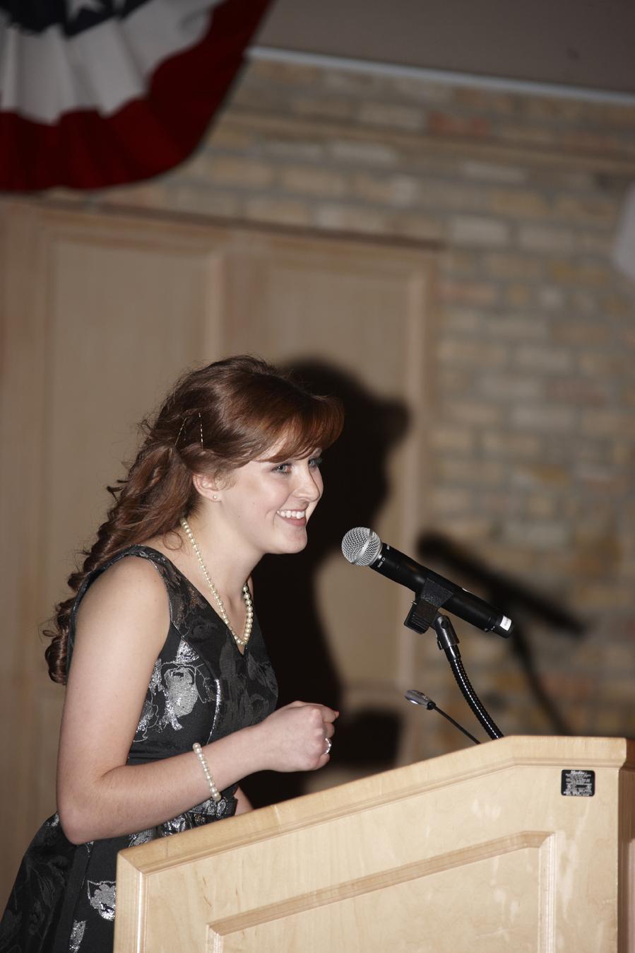 McKaela Laxen, Chesterton Academy Class of 2012