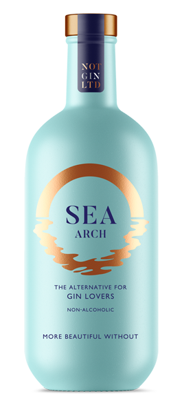 Sea Arch non-alcoholic gin bottle