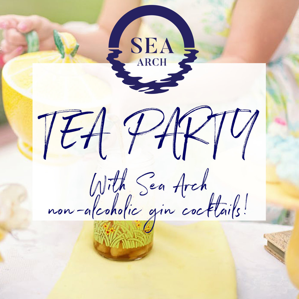 Alcohol-free tea party