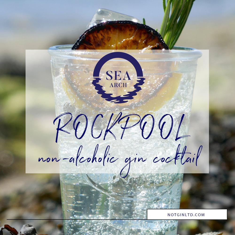 Sea Arch Rockpool non-alcoholic gin cocktail