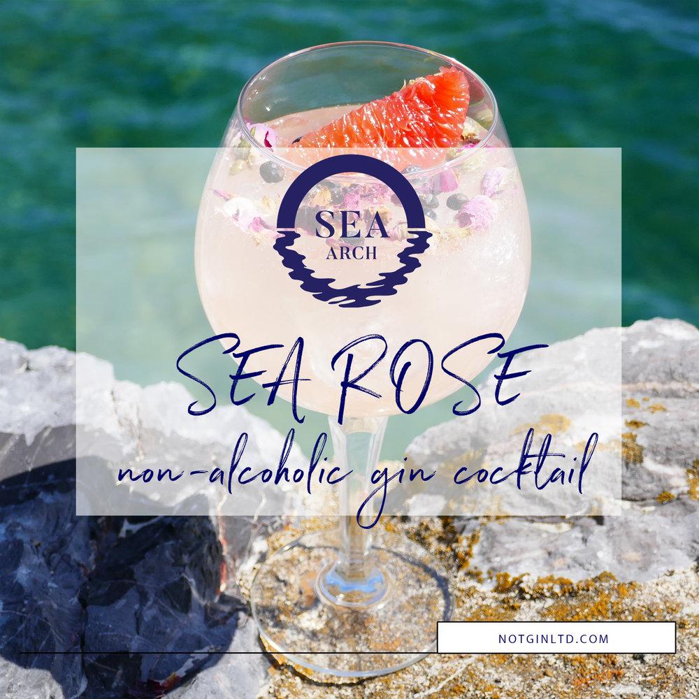 Sea Arch sea rose non-alcoholic gin cocktail recipe