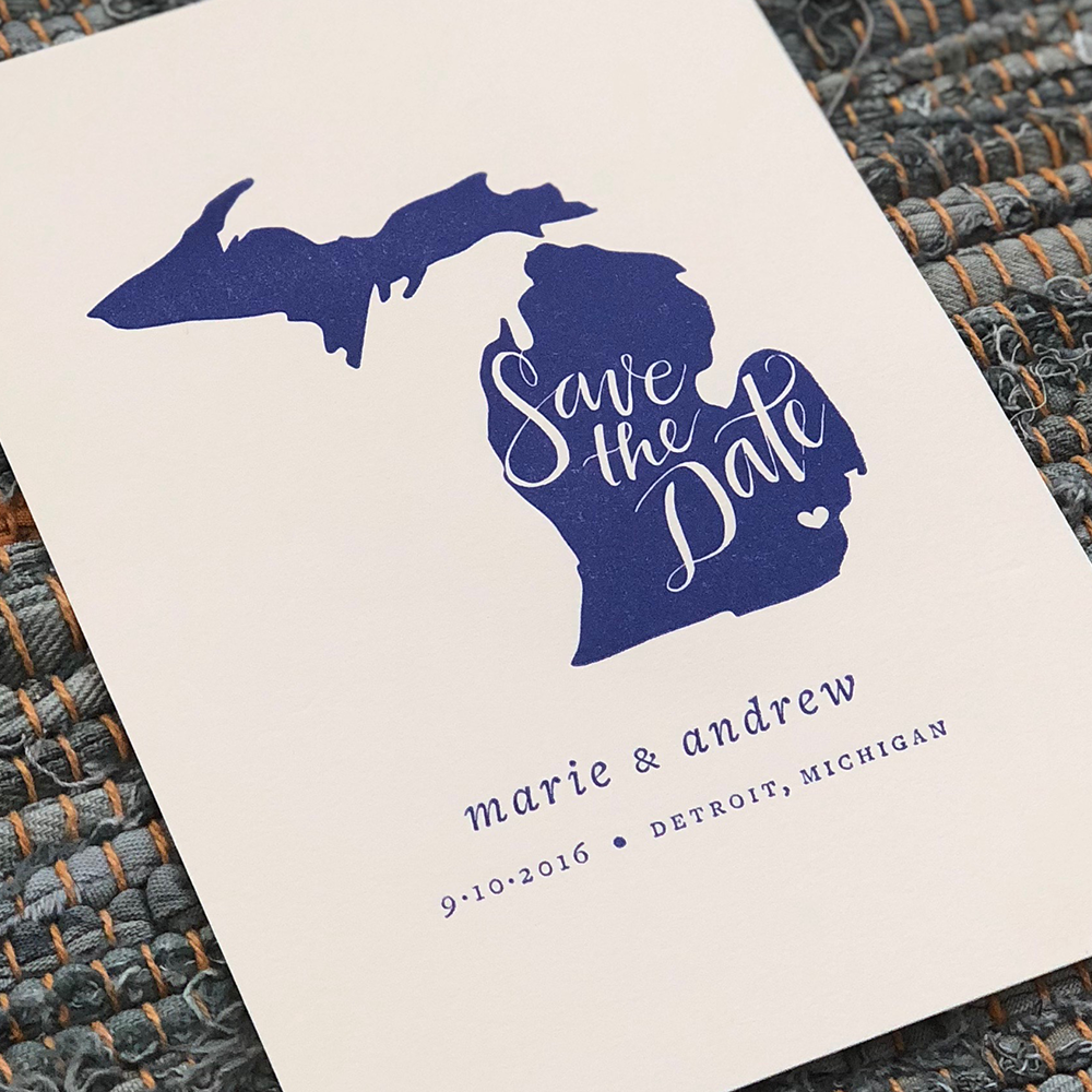 Save the dates & Wedding materials -