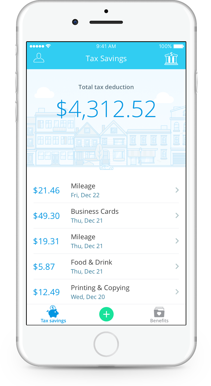 StrideTax_screenshot_tax-savings.png