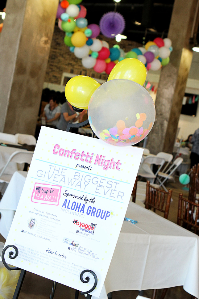 Tons of ideas of how to use confetti in a confetti party!