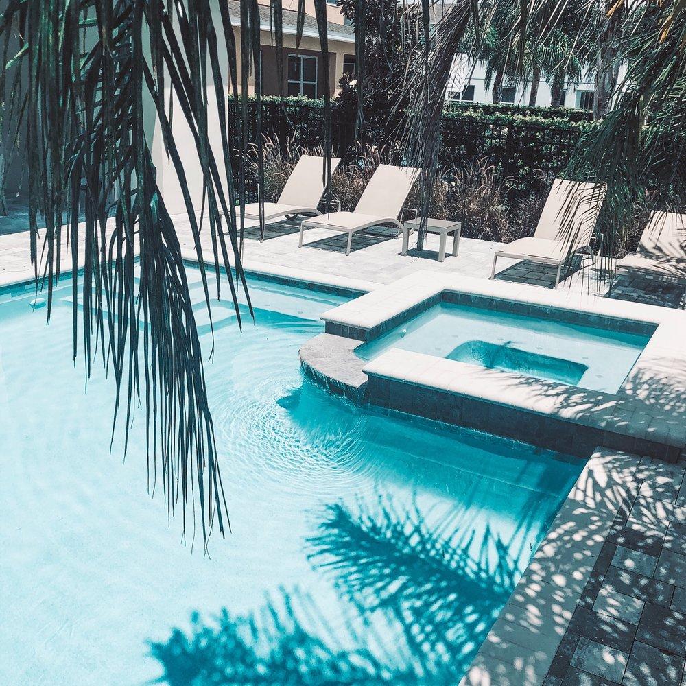 Encore resort private pool