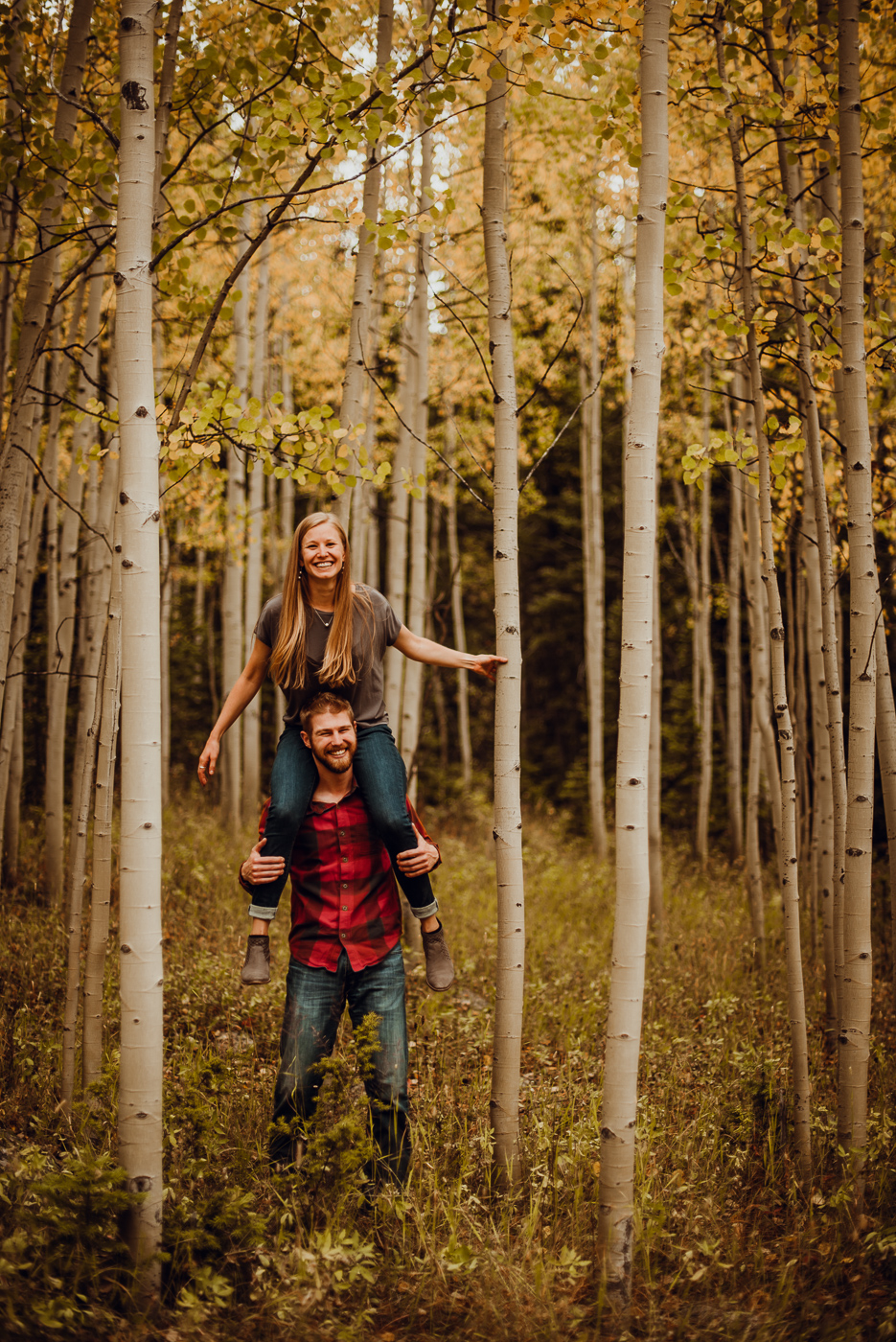 PHOCO photography boulder colorado fall engagement Rachael Garrett Yellow-8.jpg