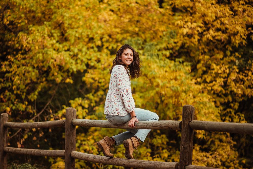 PHOCO Photography Fort Collins Colorado Senior Portraits Fall Gateway Natural Area Yellow Fedora Autumn River-6.jpg