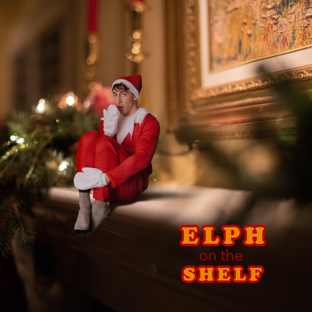 PHOCO Christmas Card Colorado Fort Collins Photographer Macro Fireplace Mantle Elf on the Shelf.jpg