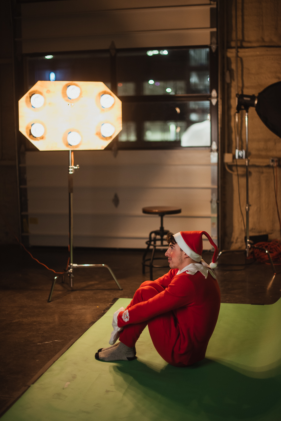 PHOCO Christmas Card The Articulate Photo Studio Green Screen Colorado Fort Collins Photographer Elf on the Shelf BTS-3.jpg