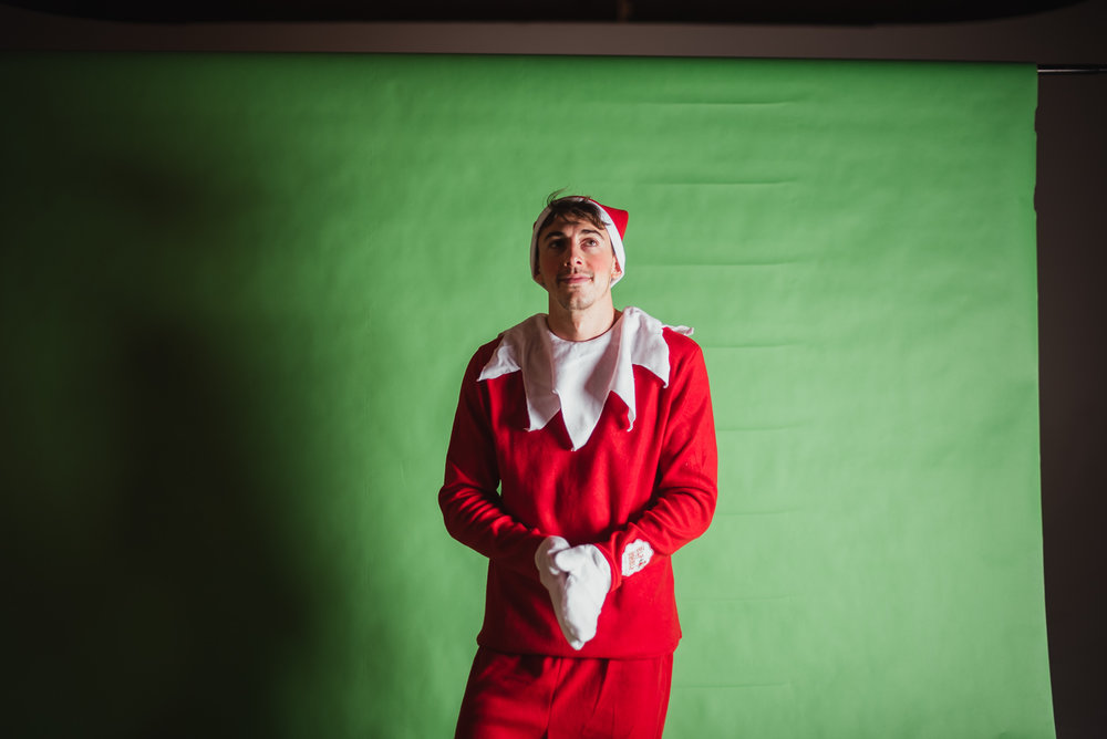 PHOCO Christmas Card The Articulate Photo Studio Green Screen Colorado Fort Collins Photographer Elf on the Shelf BTS-7.jpg