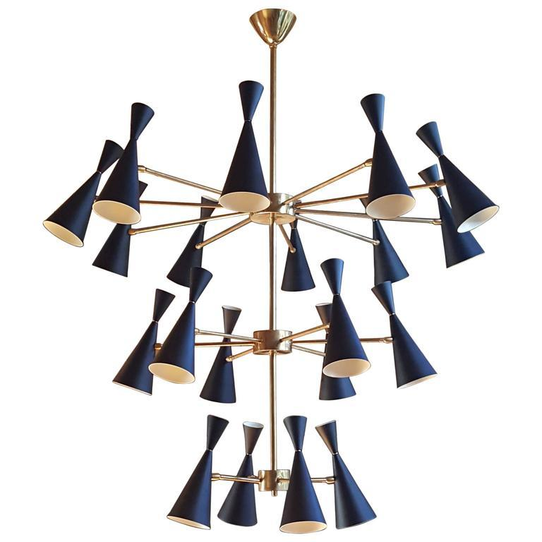 Monolith 3 Tier - $13,500.00As Shown: Natural Brass & Midnight BlueDimensions and Tiers are fully customize able.