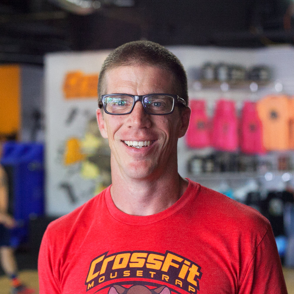 Doug Bush - Co-Head Coach   CrossFit Level 1 Trainer  CrossFit Gymnastics  CrossFit Football  USAW Level 1 Sport Performance Coach  Favorite Movement: Rope Climbs