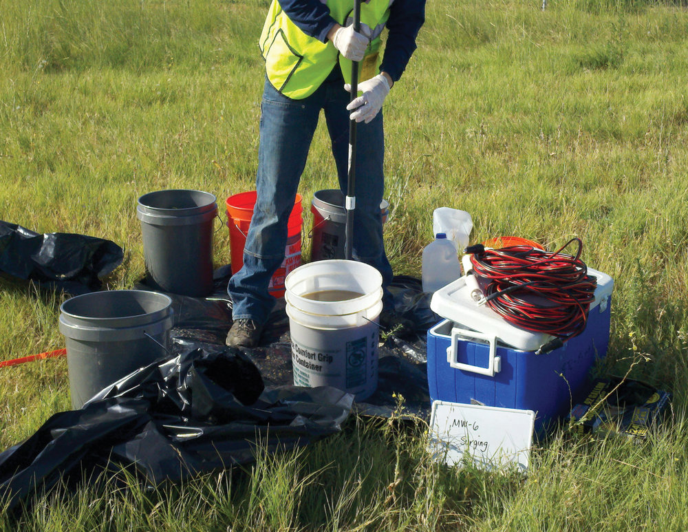 PRE-DESIGN WATER QUALITY MONITORING