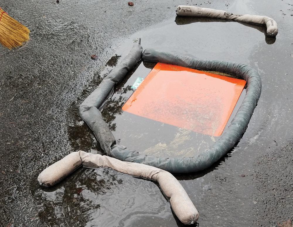 Spill response assessment.